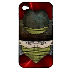 Illustration Drawing Vector Color Apple Iphone 4/4s Hardshell Case (pc+silicone)