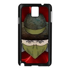 Illustration Drawing Vector Color Samsung Galaxy Note 3 N9005 Case (black)