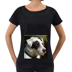 Parson Russell Terrier Women s Loose-Fit T-Shirt (Black) by TailWags