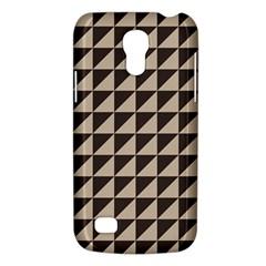 Brown Triangles Background Pattern  Galaxy S4 Mini
