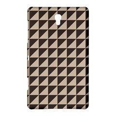 Brown Triangles Background Pattern  Samsung Galaxy Tab S (8 4 ) Hardshell Case