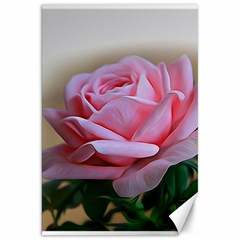 Rose Pink Flowers Pink Saturday Canvas 20  X 30   by Amaryn4rt