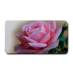 Rose Pink Flowers Pink Saturday Medium Bar Mats by Amaryn4rt