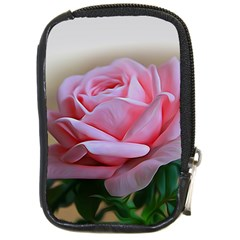 Rose Pink Flowers Pink Saturday Compact Camera Cases by Amaryn4rt