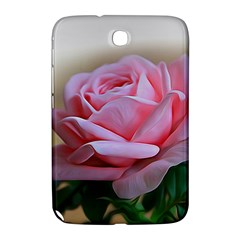 Rose Pink Flowers Pink Saturday Samsung Galaxy Note 8 0 N5100 Hardshell Case  by Amaryn4rt