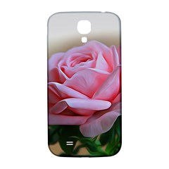 Rose Pink Flowers Pink Saturday Samsung Galaxy S4 I9500/i9505  Hardshell Back Case