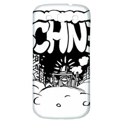 Snow Removal Winter Word Samsung Galaxy S3 S Iii Classic Hardshell Back Case