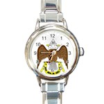 Scottish Rite Watch Round Italian Charm Watch