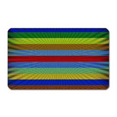 Pattern Background Magnet (rectangular)