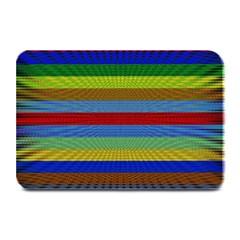 Pattern Background Plate Mats