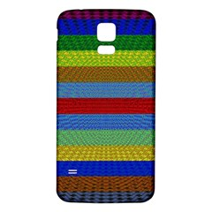 Pattern Background Samsung Galaxy S5 Back Case (white) by Amaryn4rt