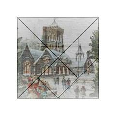 Santa Claus Nicholas Acrylic Tangram Puzzle (4  X 4 )