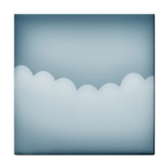 Soft Pure Backgrounds Tile Coasters by AnjaniArt