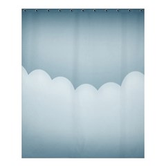 Soft Pure Backgrounds Shower Curtain 60  X 72  (medium)  by AnjaniArt