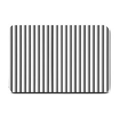 Straight Line Small Doormat  by AnjaniArt