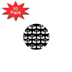 Swan Animals 1  Mini Magnet (10 Pack)  by AnjaniArt