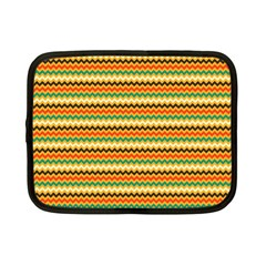 Striped Pictures Netbook Case (small)  by AnjaniArt