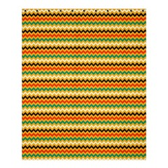 Striped Pictures Shower Curtain 60  X 72  (medium)  by AnjaniArt