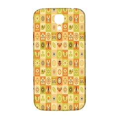 Texture Background Stripes Color Animals Samsung Galaxy S4 I9500/i9505  Hardshell Back Case
