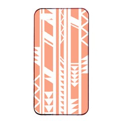 Tribal Pattern Apple Iphone 4/4s Seamless Case (black) by AnjaniArt