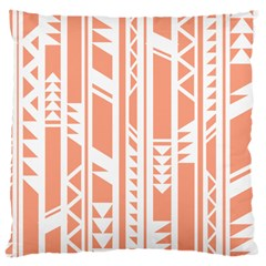 Tribal Pattern Large Cushion Case (one Side) by AnjaniArt