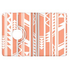 Tribal Pattern Kindle Fire Hdx Flip 360 Case by AnjaniArt