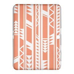 Tribal Pattern Samsung Galaxy Tab 4 (10.1 ) Hardshell Case  by AnjaniArt