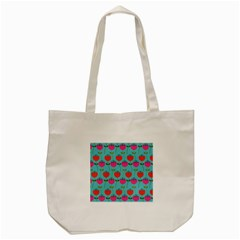 Tulips Floral Flower Tote Bag (cream) by AnjaniArt