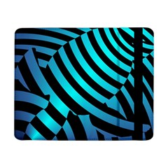Turtle Swimming Black Blue Sea Samsung Galaxy Tab Pro 8.4  Flip Case by AnjaniArt