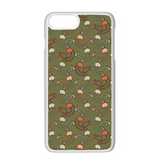 Tumblr Static Final Colour Apple iPhone 7 Plus White Seamless Case by AnjaniArt