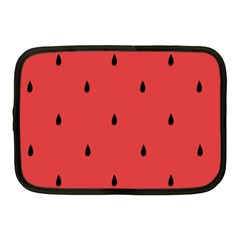 Watermelon Seeds Red Netbook Case (medium)  by AnjaniArt