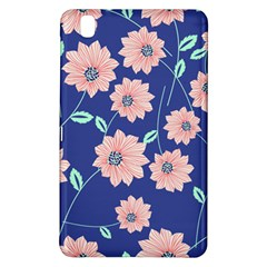 Seamless Blue Floral Samsung Galaxy Tab Pro 8 4 Hardshell Case by AnjaniArt