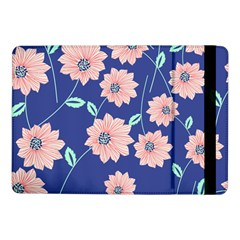 Seamless Blue Floral Samsung Galaxy Tab Pro 10 1  Flip Case by AnjaniArt