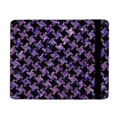 Houndstooth2 Black Marble & Purple Marble Samsung Galaxy Tab Pro 8 4  Flip Case by trendistuff