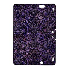 Damask2 Black Marble & Purple Marble (r) Kindle Fire Hdx 8 9  Hardshell Case by trendistuff