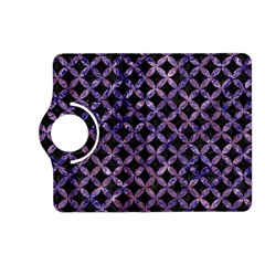 Circles3 Black Marble & Purple Marble Kindle Fire Hd (2013) Flip 360 Case by trendistuff