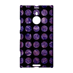 Circles1 Black Marble & Purple Marble Nokia Lumia 1520 Hardshell Case by trendistuff