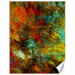 Mixed Abstract Canvas 18  X 24   by theunrulyartist