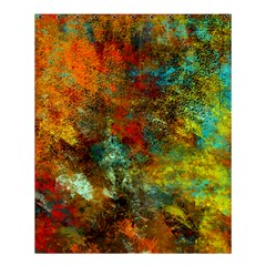 Mixed Abstract Shower Curtain 60  X 72  (medium)  by theunrulyartist