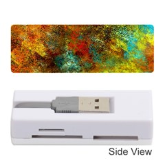 Mixed Abstract Memory Card Reader (stick)  by theunrulyartist