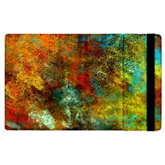 Mixed Abstract Apple Ipad 2 Flip Case by theunrulyartist