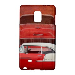 Classic Car Chevy Bel Air Dodge Red White Vintage Photography Galaxy Note Edge by yoursparklingshop