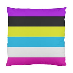 Bigender Flag Copy Standard Cushion Case (two Sides) by Jojostore