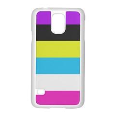 Bigender Flag Copy Samsung Galaxy S5 Case (white) by Jojostore