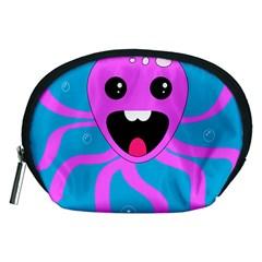 Bubble Octopus Copy Accessory Pouches (medium)  by Jojostore