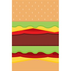Cake Cute Burger Copy 5 5  X 8 5  Notebooks by Jojostore
