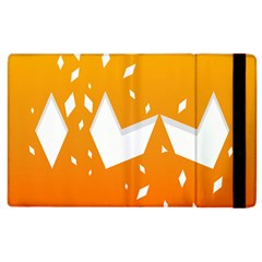 Cute Orange Copy Apple Ipad 3/4 Flip Case by Jojostore
