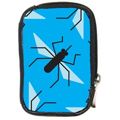 Mosquito Blue Black Compact Camera Cases by Jojostore