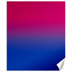 Pink Blue Purple Canvas 8  X 10  by Jojostore