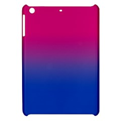 Pink Blue Purple Apple Ipad Mini Hardshell Case by Jojostore